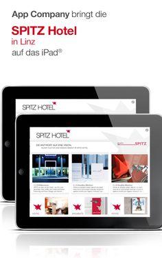 Spitz Hotel App: App Company Oberösterreich - die Appagentur aus Linz - bringt das Spitz Hotel - Kunst, Kultur und Design vereint im Spitz Hotel - auf das iPad®
