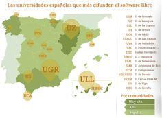 Ranking de las Universidades Españolas según su compromiso con el Software Libre  #universidad #españa #softwareLibre