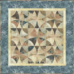 "Northcott ""Stone Circles"" using Stonehenge fabrics.  I want this pattern!"