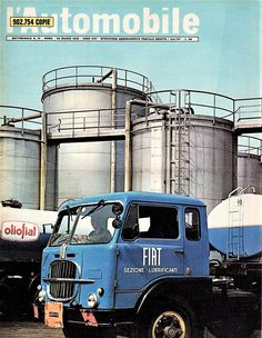 RIVISTA L'AUTOMOBILE ANNO 1969 NUMERO 13 OLIO FIAT Trucks, Fiat, Motorbikes, Automobile, Cars, Vehicles, Vintage, Shopping, Classic Trucks