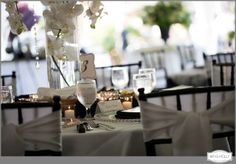 A wedding event with rentals from Grand Event Rentals - find tables, chair, place settings, decor and more at www.grandeventrentalswa.com