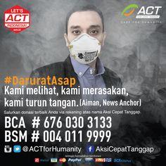 .@AimanWitjaksono mengajak Indonesia untuk menyelamatkan saudara sebangsa terdampak asap!  #DaruratAsap