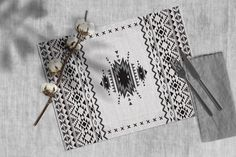 Grey, tribal, Boho chic, Kilim mat, Fabric pattern, placemat set, Heat resistant, Table top, table runner, Functional, Decorative dinnerware Table Runner Size, Table Runners, Bbq Table, Romantic Dinner For Two, Grey Home Decor, Vintage Tile, Gold Rug, Placemat Sets, Leather Texture