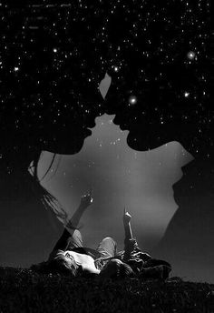 Cute Love Images, Love Photos, Beautiful Pictures, Couple Photography Poses, Dark Photography, Photographie Portrait Inspiration, Surreal Photos, Love Wallpaper, Stargazing