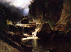 The Athenaeum - AuSable River (Samuel Colman - )