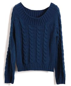 Cable knit is BACK. Cable Knit Sweater $39.40