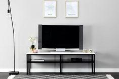 Innendørs - Oppbevaring - TV-benker - SANDY TV-Benk 160 Svart/Hvit Flat Screen, Tv, Home Decor, Blood Plasma, Decoration Home, Room Decor, Flatscreen, Plate Display, Television Set