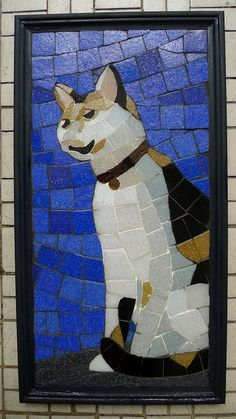 Cat mosaic! @Sarah Chintomby Chintomby Chintomby Smith