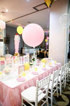 Party set-up from Gi