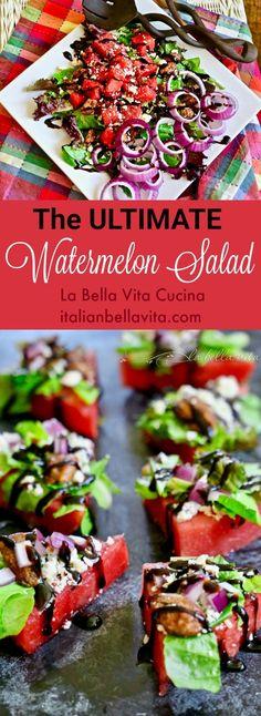 Ultimate Watermelon Salad