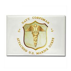 Navy Corpsman Insignia | ... meanest toughest fighting unit marines lrrps Navy Corpsman insignia