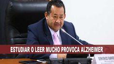 VIDEO: Fujimorista Ramirez afirma que estudiar o leer mucho provoca Alzheimer - Al Día Perú   Las últimas noticias del Peru para el mundo