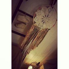 My homemade dreamcatcher :)