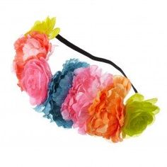 Freshen up your look with these gorgeous Mega Neon Flower Garland! Perfect for the warmer months