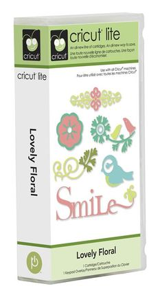 Cricut® Lite Lovely Floral Cartridge - Cricut Shop