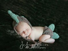 baby boy clothes baby boy hat dinosaur hat dino by CrochetMyLove, $34.00