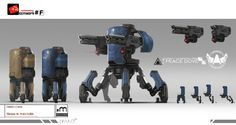 ArtStation - GUN GUN GUN A few job of 2014 , DIMA Chen