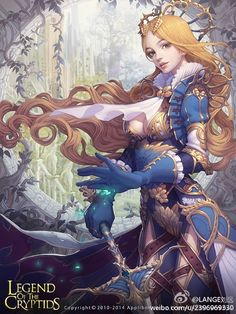 Melancholic Clover Princess by Yuan Liu