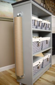 Hometalk | From IKEA Billy Bookcase to Craft Cart