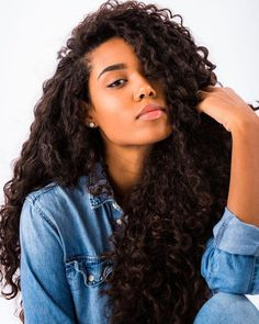 140 Best Deep Wave Hairstyle Images Curls Curly Hair Styles