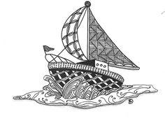 Sailing! by abudebbie