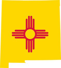 Shop New Mexico State Flag Design Decor Postcard created by AmericanStyle. Personalize it with photos & text or purchase as is! New Mexico Flag, New Mexico Homes, State Mottos, Filipino Tattoos, Embroidered Baseball Caps, Flag Art, Land Of Enchantment, Flag Design, Vintage Postcards