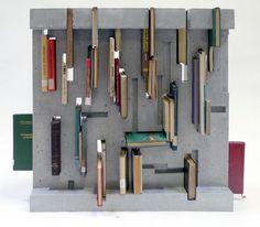 Bookshelf - table! \\\ Ivanka Beton x János Hübler