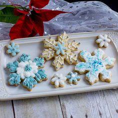 Pint Sized Baker Snowflake Cookies