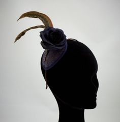 Victoria by MARY TURNER #millinery #hats #HatAcademy