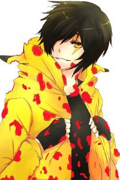 I read an X Reader of him. I WANT A PIKACHU HOODIE NOW!!!! D:< This BRVR be the way.