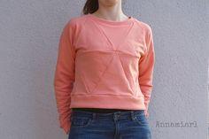 Annamiarl: Geodesic Sweater - der Neue bei Näh-Connection