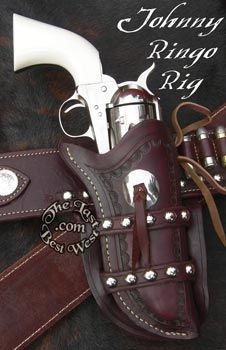 871343fceed21 Custom Gun Leather from The Last Best West  colt45peacemaker
