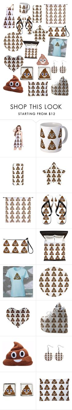 """Poop Emoji"" by monica33821 ❤ liked on Polyvore"