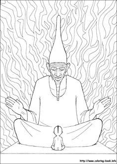 Kirikou coloring picture
