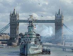 HMS Belfast, Imperial War Museum London. The Queen's Walk, London SE1. 10:00-6:00. (freeLP) pg32