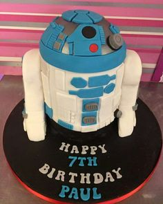 See 2 photos from 6 visitors to Cupcake Couture. Happy Birthday Paul, Cupcake Couture, Adult Birthday Cakes, R2 D2, Four Square, Minions, Lunch Box, Birthday Cakes For Adults, Minion
