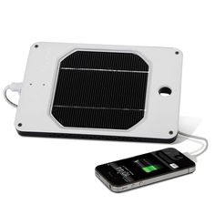 Portable Solar Charger - The Best model recharged an iPhone up to 6X faster than lesser models.