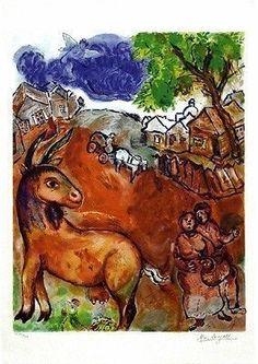 Marc Chagall, Dimanche, MSP Modern