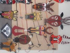 Besides these beautiful masks, this site also has other classroom crafts from a variety of cultures.