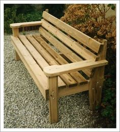 Wooden Bench Ideas Outdoor Stylish and Practical Outdoor Furniture Bench Ideas Wooden Bench Ideas Outdoor. Outdoor Furniture Bench, Outdoor Garden Bench, Lawn Furniture, Garden Seating, Pallet Furniture, Handmade Furniture, Furniture Price, Furniture Design, Woodworking Shows