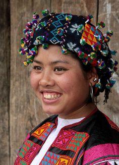 Walter Callens - Flower Lo Lo girl, Vietnam