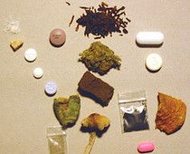 drugs, weed, and pills kép