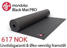 Kjøp Yogamatter - Manduka Black Mat PRO