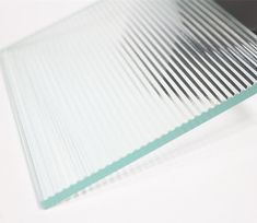 Reeded glass Reeded Glass, Translucent Glass, Glass Partition, Wall Finishes, Wall Cladding, Glass Material, Glass Texture, Glass Blocks, Design Reference