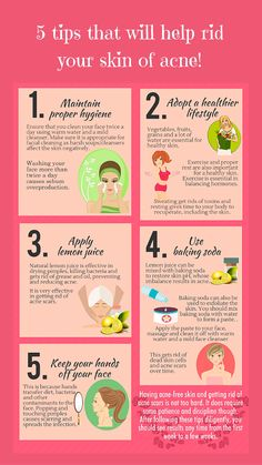 5 tips that will help rid your skin of #acne! http://contourderm.com/acne/