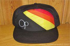 OCEAN PACIFIC Original Vintage 80s OP Snapback Hat by HatsForward