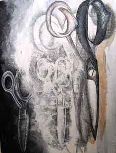 jim dine, Emulsion print and collage, very effective use of print to create a focal point Ap Drawing, Object Drawing, Still Life Drawing, Art Object, Jim Dine, Observational Drawing, Ap Studio Art, Drawing Projects, A Level Art