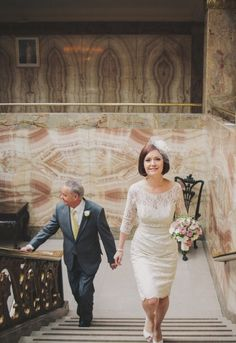 McKinley Rogers wedding photographer, lace shift dress and birdcage veil
