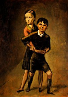 Balthus - Brother and Sister, 1936.  https://www.artexperiencenyc.com/social_login/?utm_source=pinterest_medium=pins_content=pinterest_pins_campaign=pinterest_initial