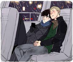Sherlock and John :3